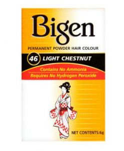 Bigen Permanent Powder Hair Color No 46 Light Chestnut