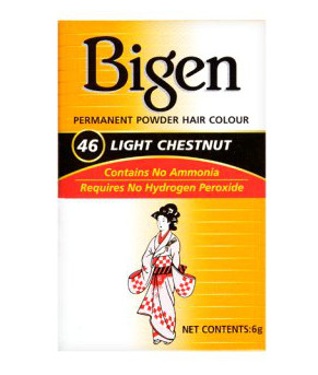 Bigen Permanent Powder Hair Color No 46 Light Chestnut