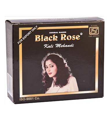 Black Rose Hair Color