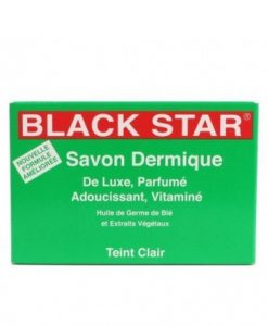 Black Star Dermic Soap