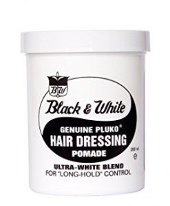 Black & White Pluko Hair Dressing Pomade
