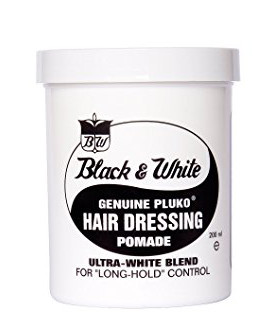 Black & White Pluko Hair Dressing Pomade