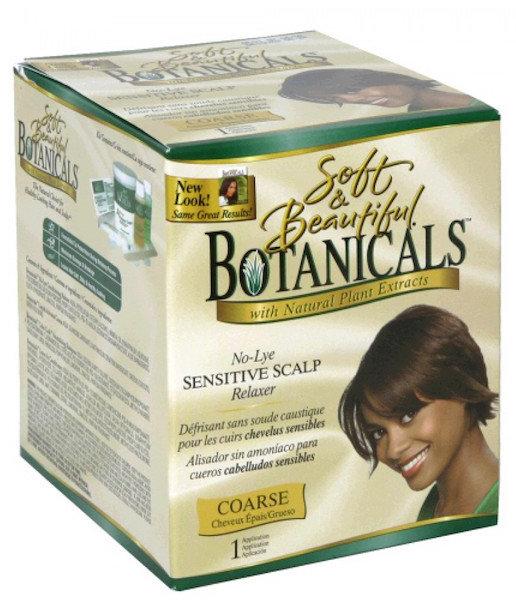 Botanicals No Lye Sensitive Scalp Relaxer - Coarse