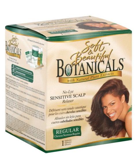 Botanicals No Lye Sensitive Scalp Relaxer - Regular