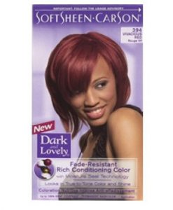 Dark & Lovely Fade Resistant Rich Conditioning Color - 394 - Vivacious Red