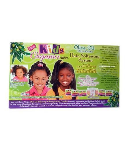 Kids' Organics Olive Oil Hair Softening Relaxer Kit