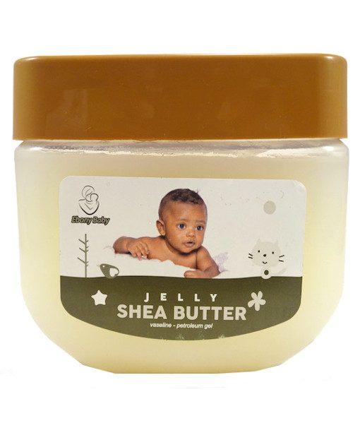 Ebony Baby Jelly Vaseline - Shea Butter
