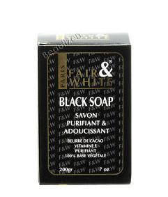 Fair & White Black Soap