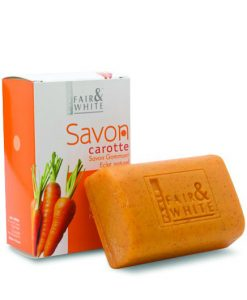 Fair & White Exfoliating Soap Carrot