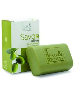 Fair & White Exfolianting Soap - Olive
