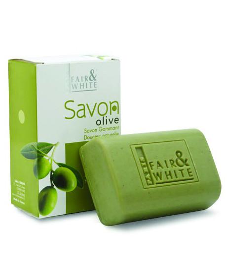 Fair & White Exfolianting Soap - Olive