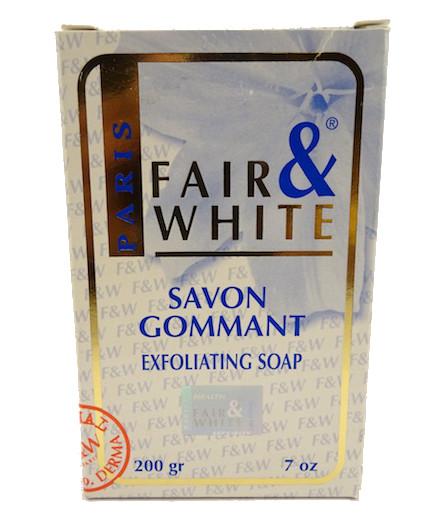 Fair & White Exfoliating Soap