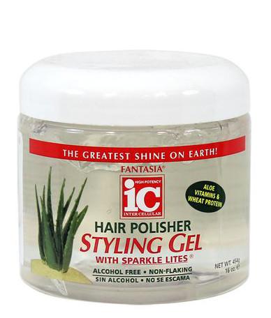 Fantasia IC Hair Polisher Styling Gel- Aloe Vitamins