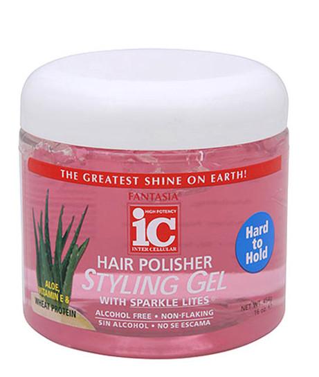 Fantasia IC Hair Polisher Styling Gel - Hard To Hold