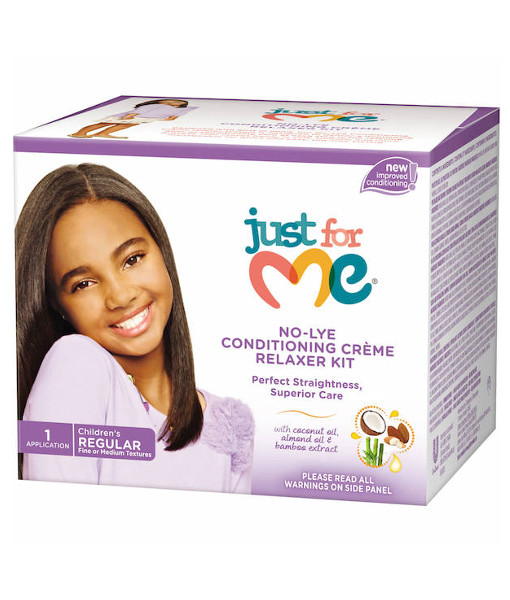 Just for me No-Lye Conditioning Creme Relaxer - Regular