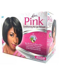 Pink No Lye Relaxer Kit - Regular