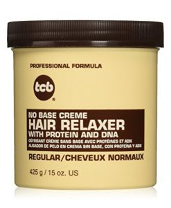 TCB No Base Creme Hair Relaxer Regular