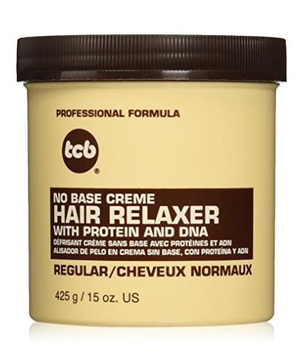 TCB No Base Creme Hair Relaxer Regular
