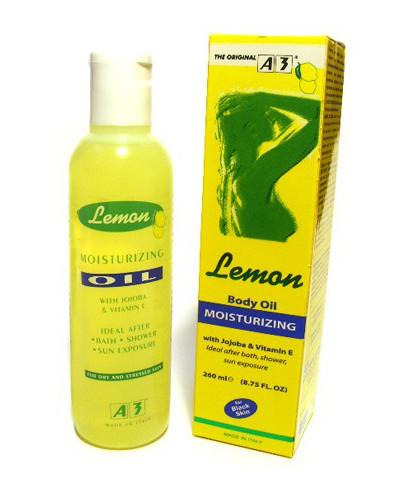 A3 Lemon Body Oil