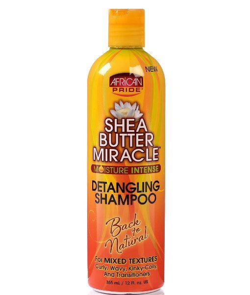 African Pride Shea Butter Miracle Detangling Shampoo