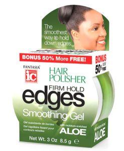 Fantasia IC Hair Polisher Firm Hold Edges Smoothing Gel - Aloe