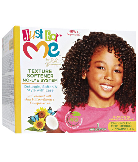 Just for me Texture Softener No-Lye System
