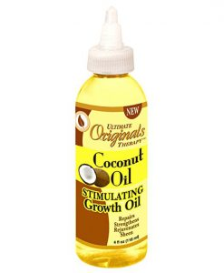 Organics Coconut Oil Stimulating Growth Oil
