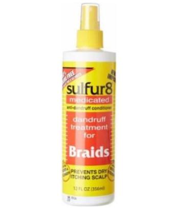 Sulfur 8 Anti-Dandruff Conditioner Spray