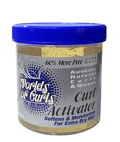 Worlds of Curls Curl Activator - Extra Dry Hair