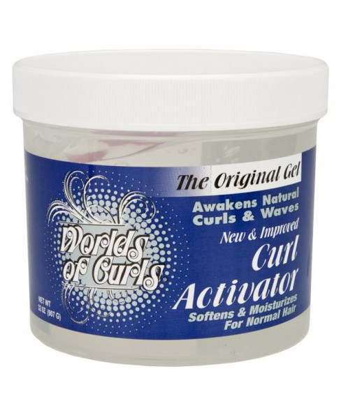 Worlds of Curls Curl Activator - Normal Hair