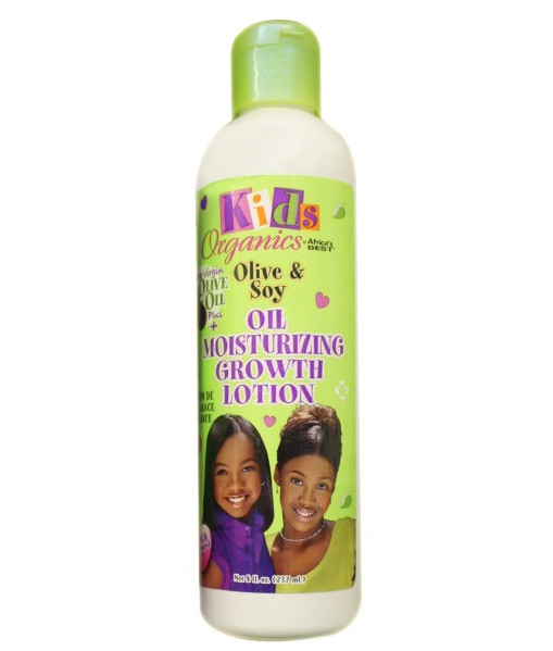 Africa's Best Kids Organics Olive & Soy Oil Mosturizing Growth Lotion