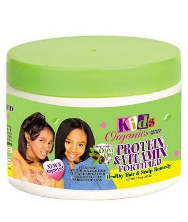 Africa's Best Kids Organics Protein & Vitamin Healthy Hair & Scalp Body