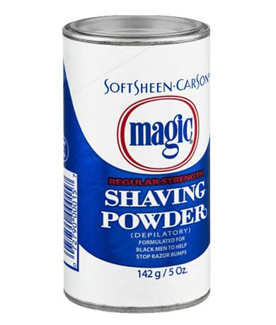 Magic Shaving Powder Regular Strength (Blue)