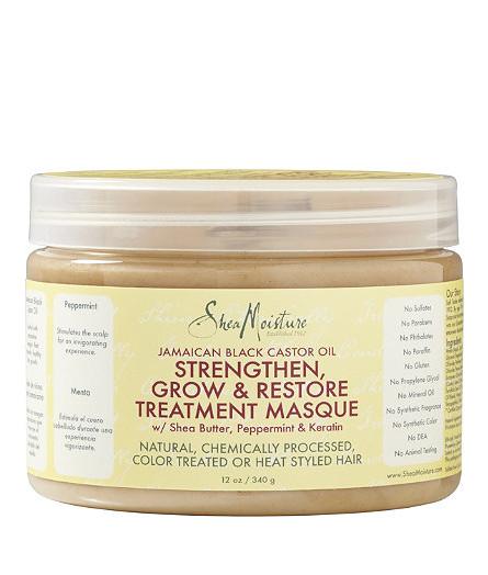 Shea Moisture Jamaican Black Castor Oil Strengthen-Grow & Restore Treatment Masque