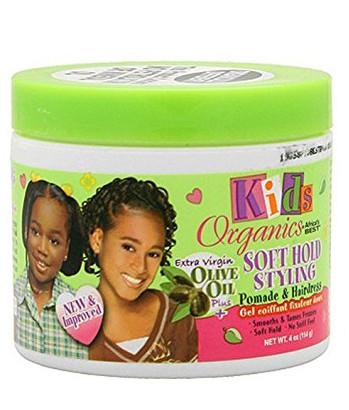 Africa Best Kids' Organics Soft Hold Styling Pomade & Hair Dress