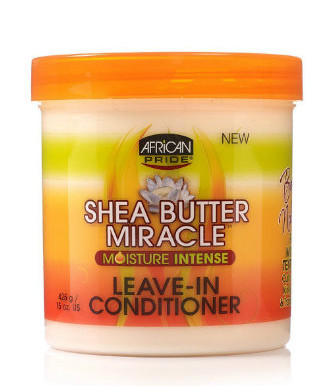 African Pride Shea Butter Miracle - Moisture Intense Leave-in Conditioner