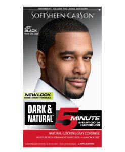 Dark & Lovely - Dark & Natural Hair Color - Jet Black