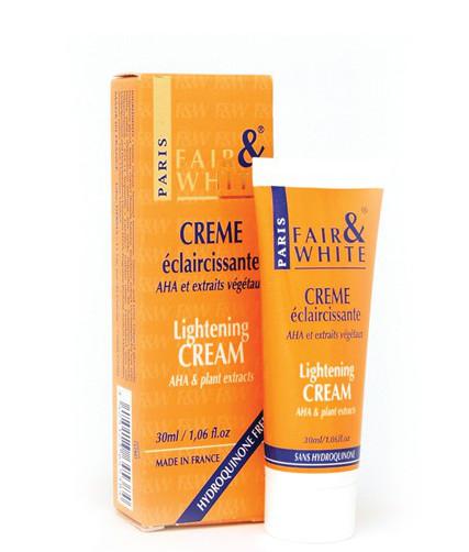 Fair & White Lightening Cream AHA Tube