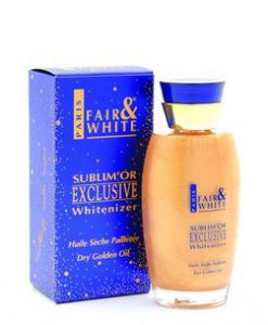 Fair & White Sublim' Or Exclusive Whitenizer Dry Golden Oil
