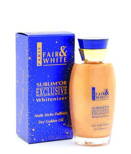 Fair & White Sublim' Or Exclusive Whitenizer Dry Golden Oil