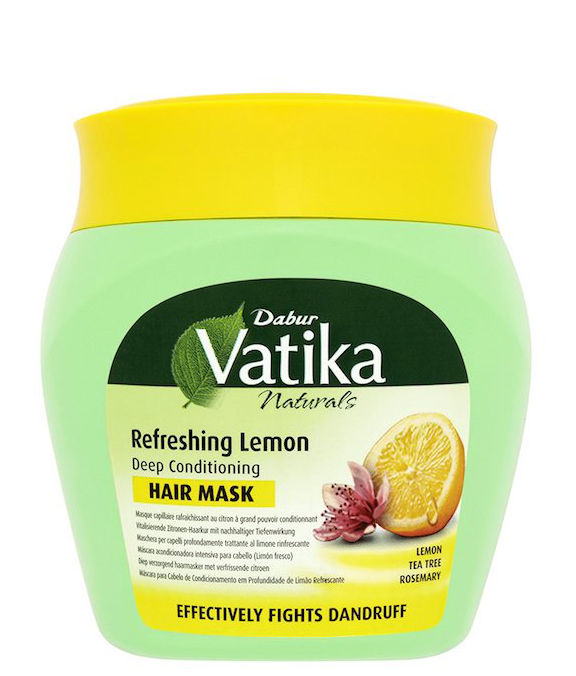 Vatika Naturals Refreshing Lemon Deep Conditioning Hair Mask