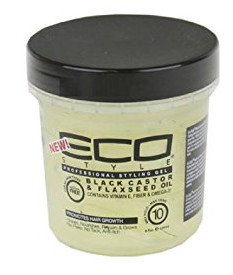 Eco Styler Styling Gel Black Castor & Flaxseed Oil 8 oz