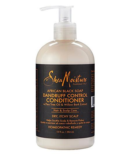 Shea Moisture African Black Soap Dandruff Control Conditioner 13oz