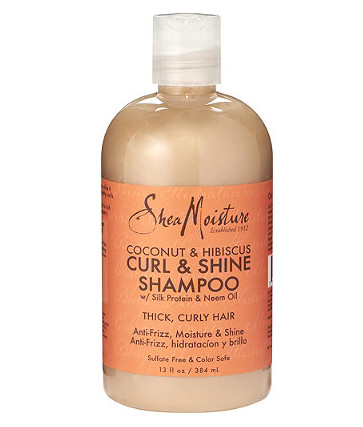 Shea Moisture Coconut and Hibiscus Curl and Shine Shampoo 384ml