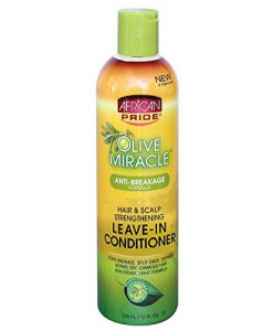 African Pride Olive Miracle Leave-in Conditioner 355ml